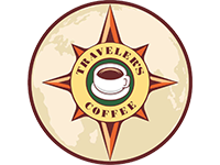 Логотип Traveler`s coffee
